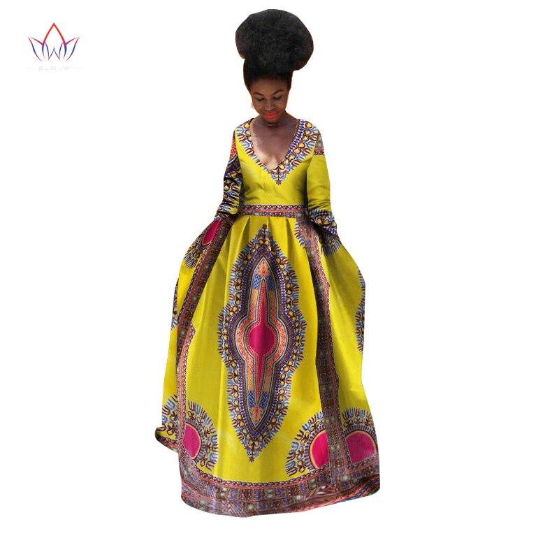 Africano Maxi Clothin 18 1 Estate Per Bazin Vestito Del Riche Longue Abiti  Maniche 2 8 Donne Di ... 46bab8eded3a
