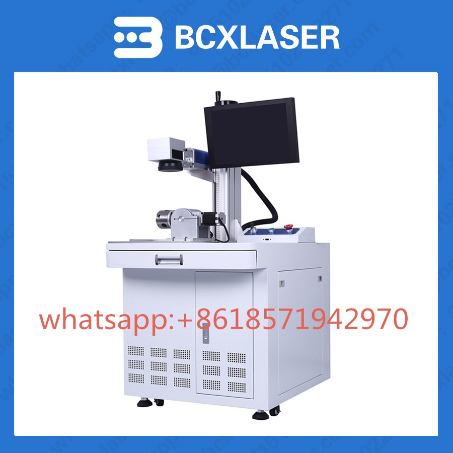 BCXlaser factory sale table fiber laser markingmachine for metal logo making