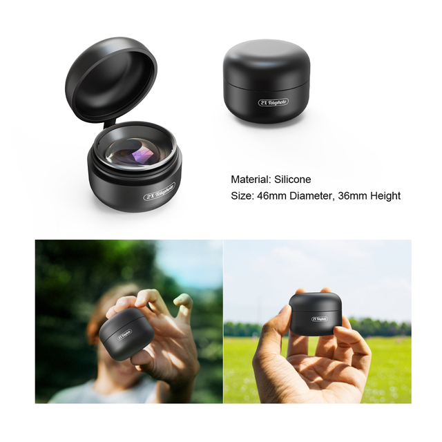 APEXEL mobile phone lens 4K HD 2X telescope lens telephoto zoom +CPL star filter for iPhone Xiaomi all smartphone drop-shipping 4