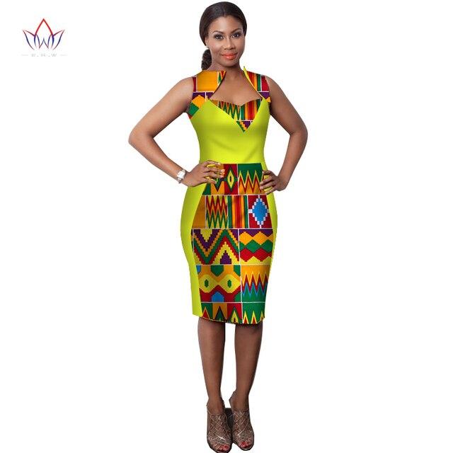 2019 nouveau Hitarget mode robes de style africain pour les femmes  vêtements africains robe vêtements bazin