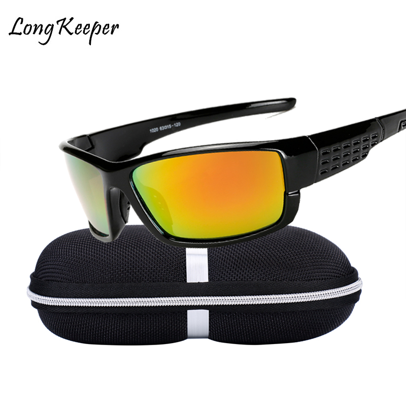 2018 New Polarized Sunglasses Men Women Night Vision Goggles Driving Glasses Anti Glare Safety Sunglass With Box By Long Keeper
