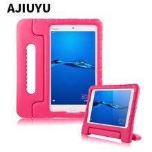"""Huawei mediapad m3 lite 8 용 어린이 타블렛 충격 방지 케이스 화웨이 CPN L09 CPN AL00 w09 8 """"eva 케이스 커버 용 8.0"""" 실리콘 커버"""