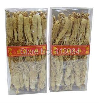 Top qualidade de raiz de Ginseng embalado pelo presente 250 g/caixa (saco de Vácuo) escolher a partir de montanha para os cuidados de saúde alimentar
