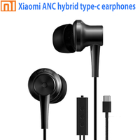 Original Xiaomi ANC Earphones Hybrid Type C Charging Free Mic Line Control Music Earphones For Xiaomi