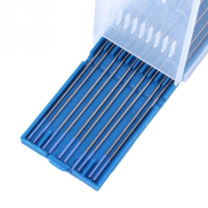 10 шт./кор. электроды для сварки стержней 1,0/1,6/2,4 мм вольфрамовые электроды из лантана низкая Температура Tig пайки с давилкой для пюре