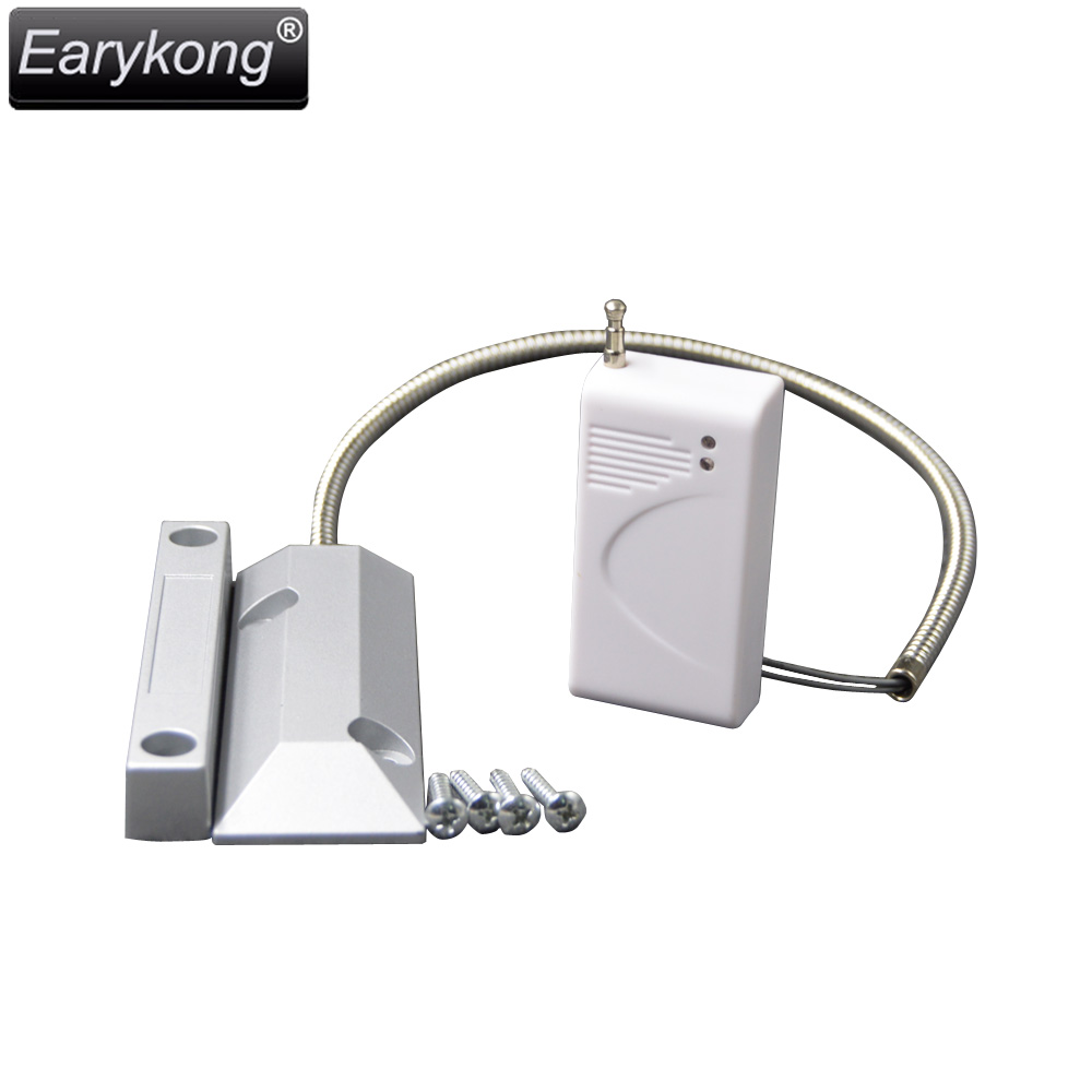 433MHz/315MHz Wireless Rolling Door Open Detector, Outdoor <font><b>Metal</b></font> Door Open Detector, Waterproof, For Wifi / GSM Alarm System