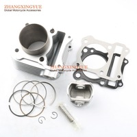 62mm BIG BORE Barrel Cylinder Dome Piston Kit Upgrate 150cc SUZUK GS125 GN125 EN125 Euro 1