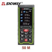 SNDWAY 50M 70M 100M Digital Laser Rangefinder Color Display Digital Rechargeable Rangefinder Distance Meter Measure Tools