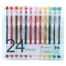 24 шт/лот ручка для рисования тонкой линии рекламного дизайна