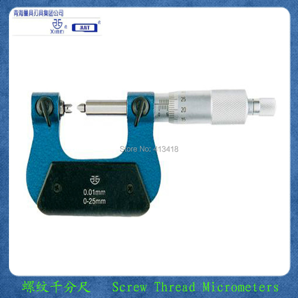 Thread micrometer measuring head .V-shaped and knife-edged anvilsF0101---F0106.