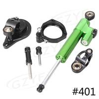 CNC Steering Damper Stabilizer Safety Control Mouting Bracket Set For BMW S1000RR 2010 2011 2012 2013