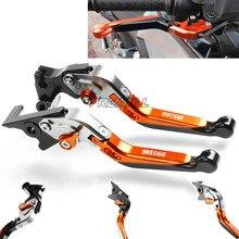 FREAXLL Motorcycle Brake Clutch Levers CNC Aluminum Motorbike Foldabel Extendable For 990 SMR 990SMR SMR990 009-2013