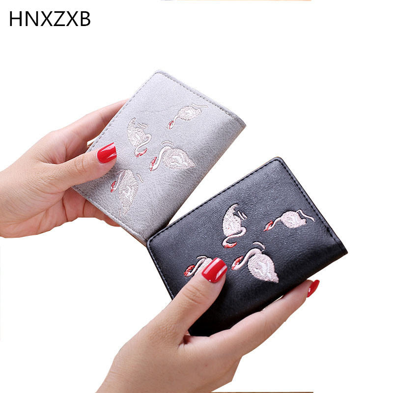 Korean Brand Design Women Faux Suede Leather Wallets Coin Bag Small Wallet Purse Mini Zipper Hasp Short Lady Purse Crad Holder 1