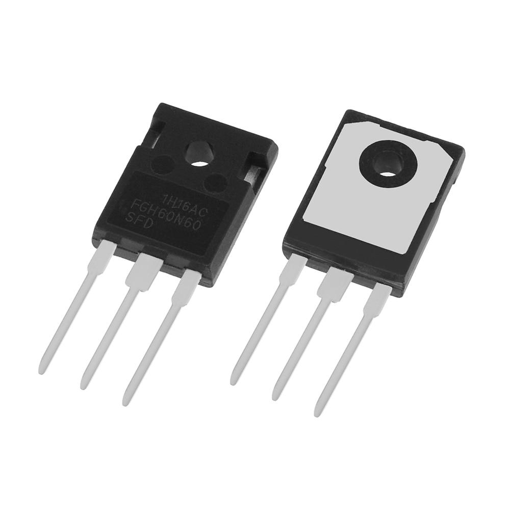 50pcs lot NEW FGH60N60SFD FGH60N60 60N60 IGBT 600V 120A 378W TO 247 IGBT transistor Best Quality