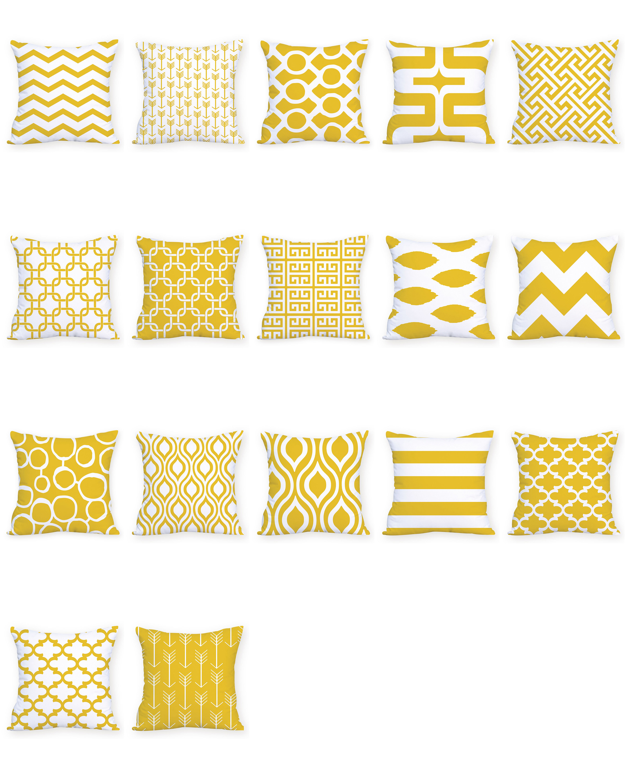 Hot Sale Cushion Cover Pillow Cover Pillow Case Abstract Art Hug Pillowcase Sofa Yellow Cushion Home Decorative Sofa Throw Pillows Clients First Home & Garden Home Textile