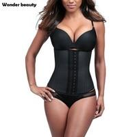 Wonder Beauty Big Deal Waist Trainer 9 Steel Bones Latex Waist Cincher XXS Slimming Girdles For