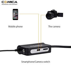 Image 2 - Comica AD1 przedwzmacniacz mikrofonowy XLR do 3.5mm Adapter Audio XLR do TRS/TRRS Adapter do lustrzanki cyfrowe kamery i smartfony