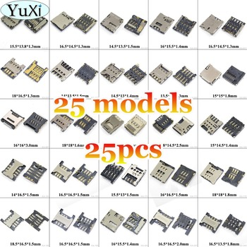 YuXi Universal soporte para tarjeta Sim bandeja de tarjeta Sim Reader para Samsung I9300 P5200 S5230 para Lenovo B6000 B8000 para Nokia 620 para ASUS