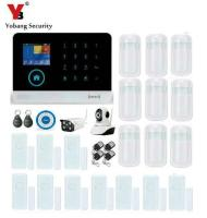 Yobang Security WiFi Home Alarm Systems With APP Control Wireless Home IP Camera Security Siren Motion PIR Protection Alarm