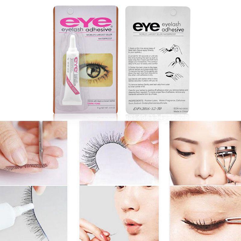 8b93dcaba45 7g Women Beauty Makeup False Eyelashes Makeup Adhesive Waterproof Eye Lash  Glue on Aliexpress.com | Alibaba Group