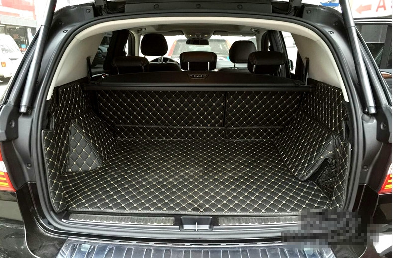 Good quality! Special trunk mats for Mercedes Benz ML W164 2011-2006 durable boot carpets cargo liner for ML 2009,Free shipping