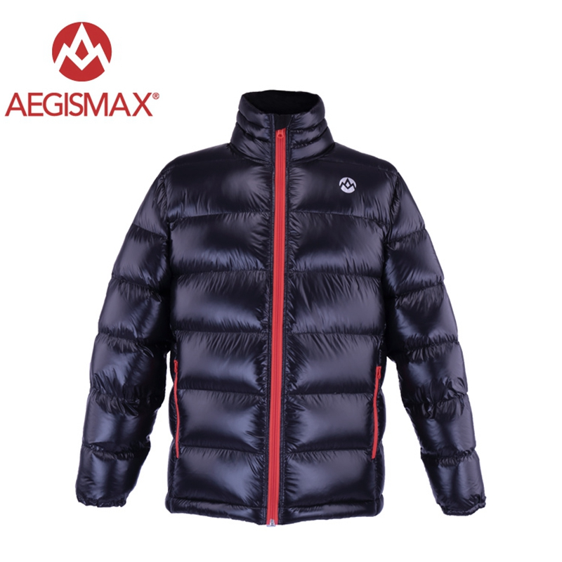 AEGISMAX 800FP White Goose Down Jackets Outdoor Camping Hiking Keep Warm Down Unisex Ultra Light