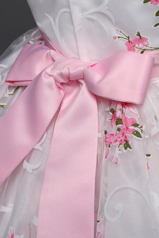 девушка платье ; платье девушки цветка; розовый женщины платье;