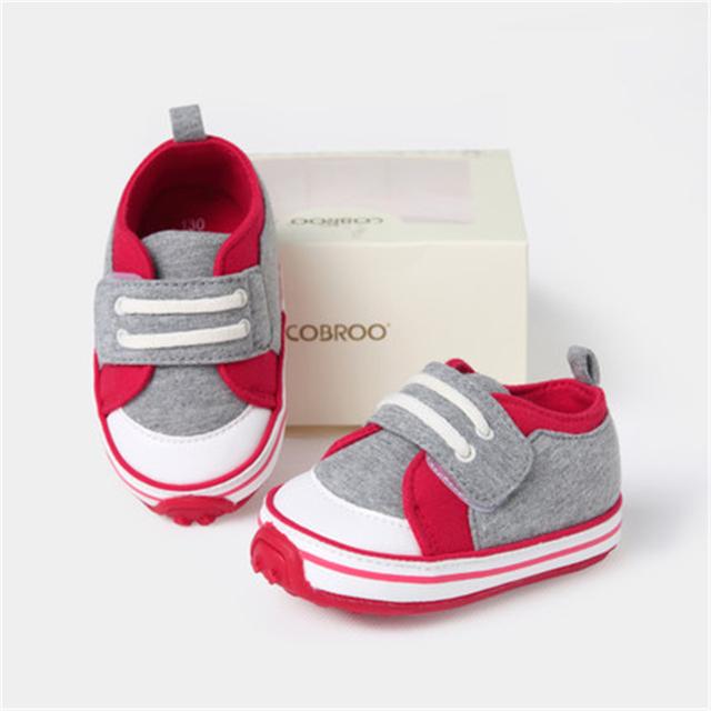 Suaves Del Bebé Primer Caminante Zapatos Antideslizante Zapatos Para Recién Nacido Algodón de La Manera Linda de Alta Calidad Zapatos de Bebé de Invierno 70A1066