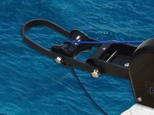 12V Electric Anchor Winch For 35LBS 16KG Anchor Freshwater Black Marine Boat Yacht Pontoon