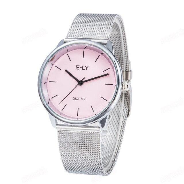 Hot Sale Colorful dial bracelet watch women Ladies casual dress Quartz Wrist watches Relogio Feminino E810-1