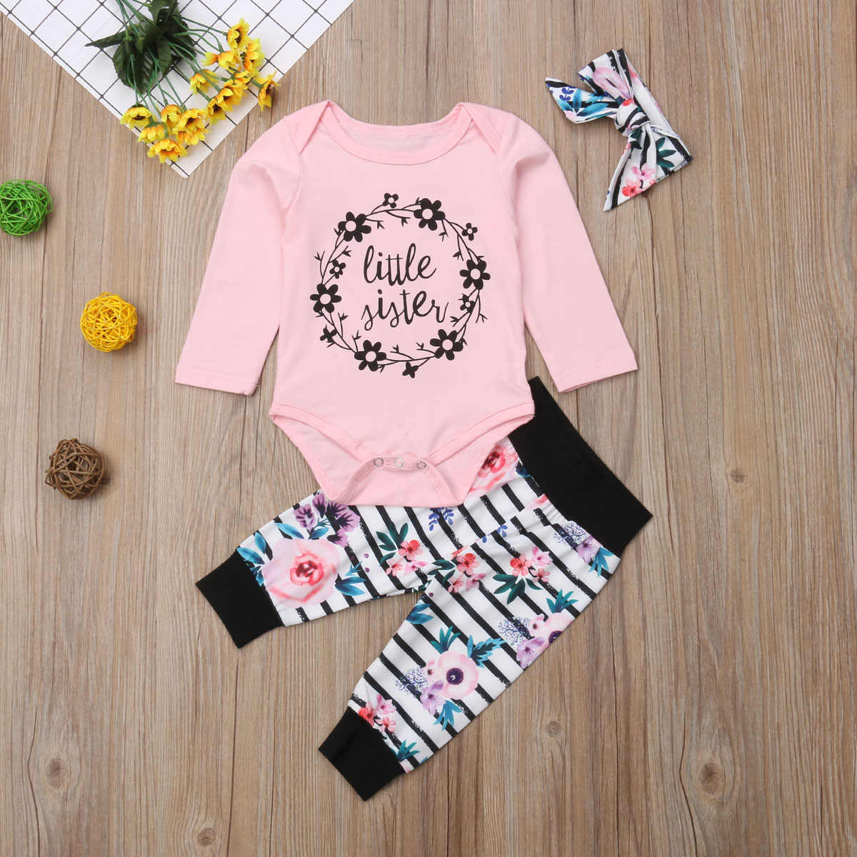c7c4127493e5 Detail Feedback Questions about Family Clothes Set Sister Newborn ...