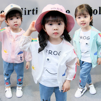 Summer Girls' Clothing Sun-proof Rainbow Clo ...