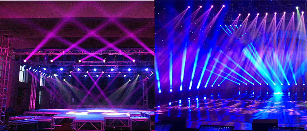 New Professional Led Stage Lights 18 Rgb Par Dmx Lighting Effect Dmx512 Master Slave Flat For Dj Disco Party Ktv