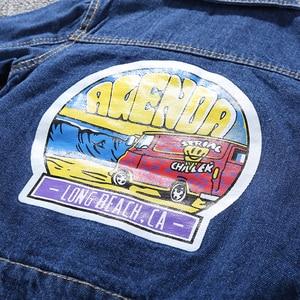 Image 5 - Children Mickey Denim Jacket Coat 2020 New Spring Autumn Kids Fashion Outerwear Boys Girls Hole Cartoon Jeans Coat For 2 7 Yrs