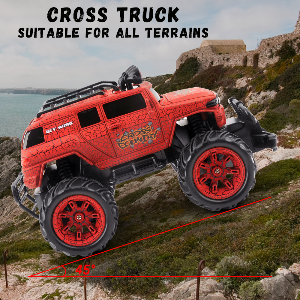 1/20 RC Car Cross Country Rc Radio Controlled Machine 27MHZ Monstertruck Off Road Cars Toys for children Xmas Gifts For Kids-in RC Cars from Toys & Hobbies