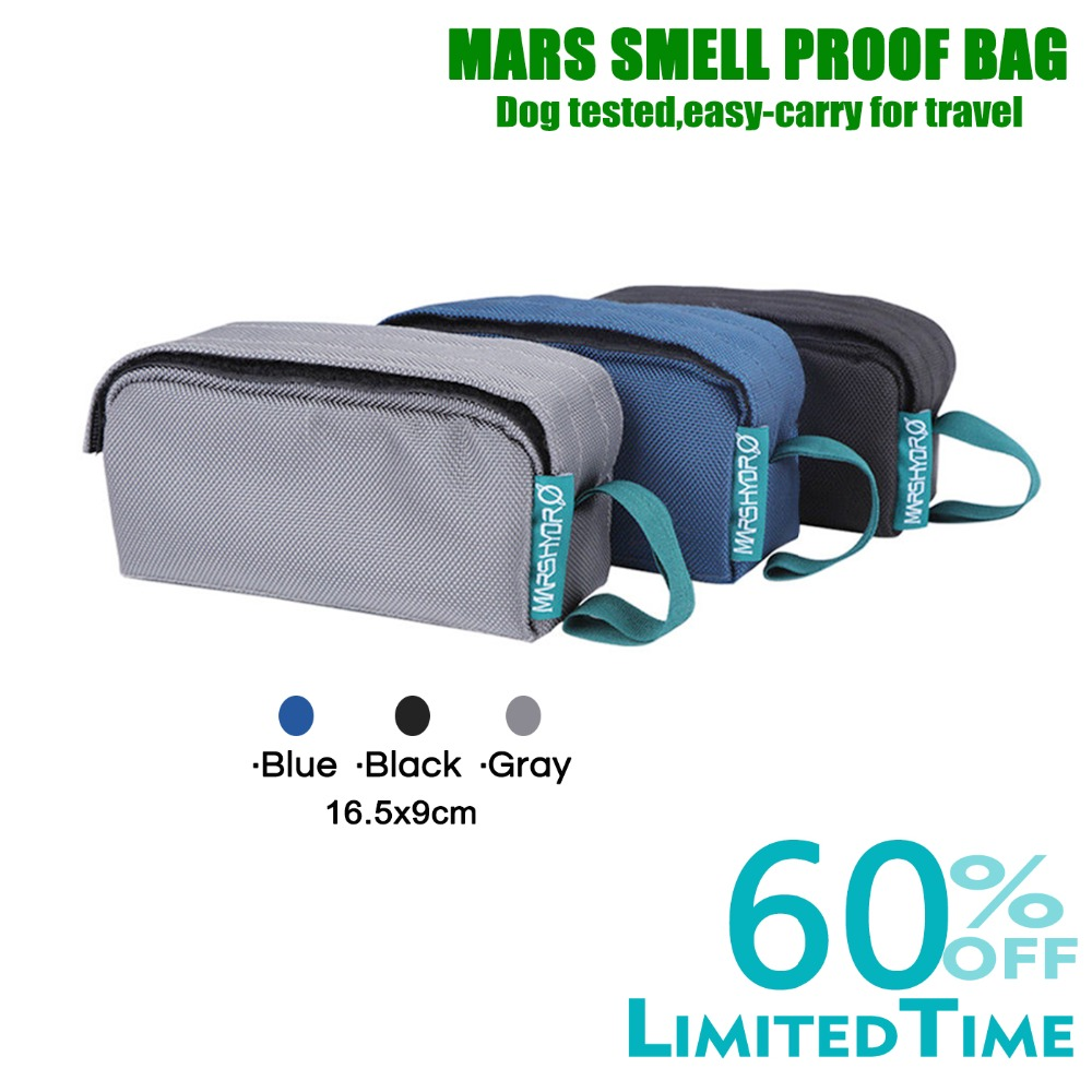 Mars Hydro Smell Proof Bag(black/Blue/Gray)Mars Hydro Smell Proof Bag(black/Blue/Gray)