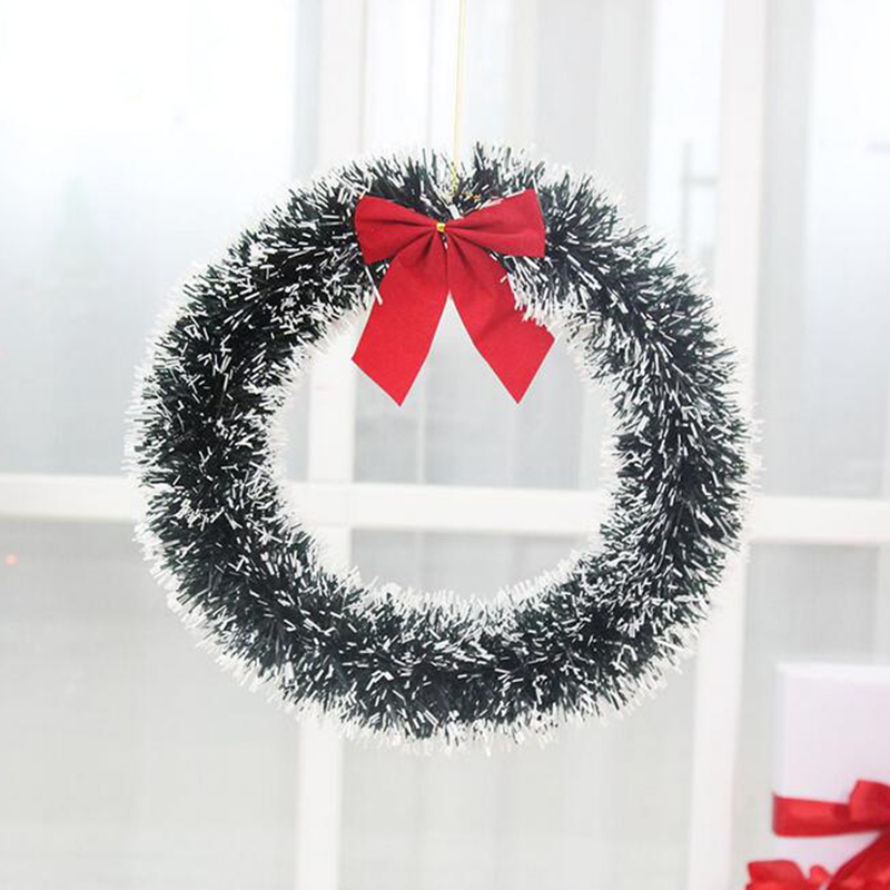 2017 christmas wreath garland door hanging decoration home for 3 wreath door decoration