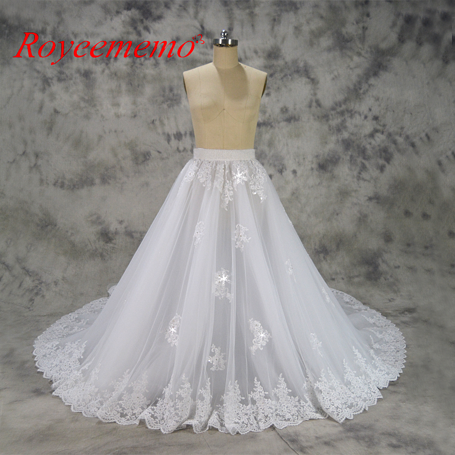 Removable Princess Big Train Wedding Dress Lace Skirt Good Quality Cheap Pricein Dresses From Weddings Events On Aliexpress Alibaba Group: Big Wedding Dresses Lace At Reisefeber.org