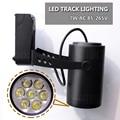 High power efficiency led track light 7w 720LM Black/White CE&RoHS AC85-265V Warm white/white 7w led rail lamp