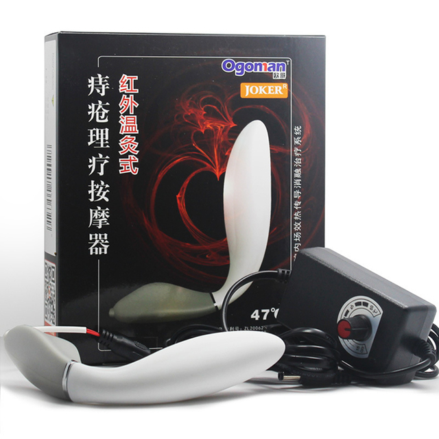 Hemorrhoids physiotherapy Prostate Massager