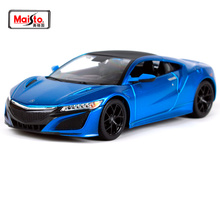 Maisto 1:24 2018 Acura NSX Diecast Model Car Toy New In Box Free Shipping NEW ARRIVAL 31234