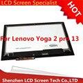 """Nuevo para lenovo yoga2 pro 13 13.3 """"asamblea lcd con pantalla táctil digitalizador 3200x1800 ltn133yl01-l01"""