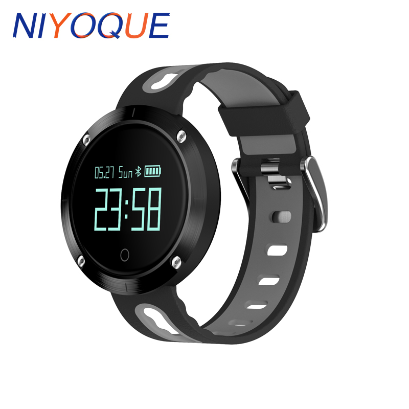 DM58 Smart Band Blood Pressure Heart Rate Monitor Waterproof Smart Bracelet Call SMS SNS Remind Activity Tracker Smart Wristband