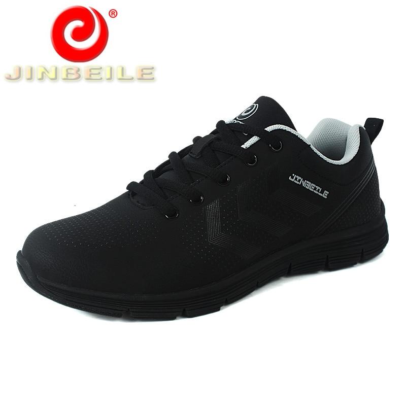 JINBEILE Professional Marathon Men Running Shoes Ultralight Durable & Non-slip Men Sports Shoes Breathable Jogging Sneakers Men