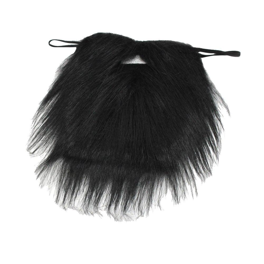 drle noir costume faux barbe fantaisie robe halloween party faux barbe moustache cheveux du visage professionnel - Grossiste Decoration Mariage Pour Professionnel