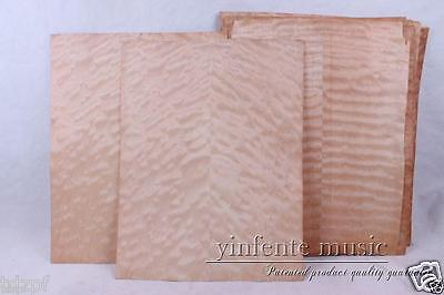 4x Electric Guitar Veneer Guitar Body Veneer Flame Maple Guitar Parts High Quality new electric guitar body solid body mahogany flame maple veneer unfinished 868