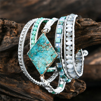Premium Handmade Turquoise Wrap Bracelet
