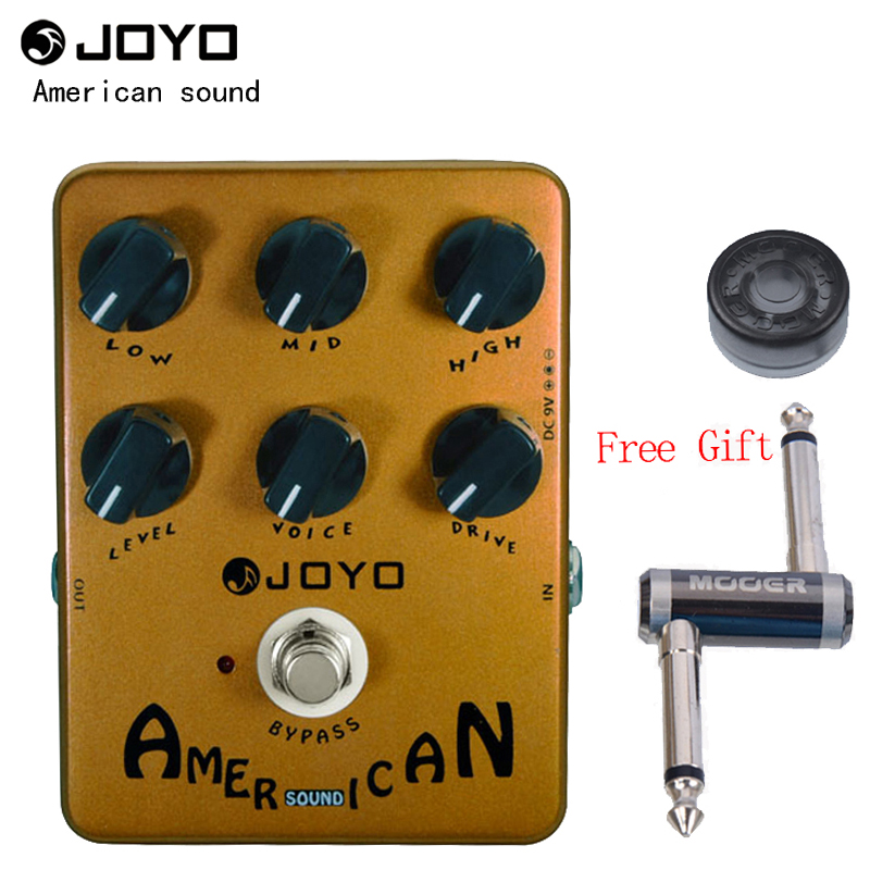 JOYO Effect Pedal American Sound Amplifier Simulator JF 14 One MOOER PC Z Pedal Connector One