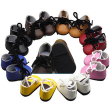 Fashion Sport Shoes for 14 inch Doll 9 Colors One Pair Mini Girls Suitable EXO Dress Accessories
