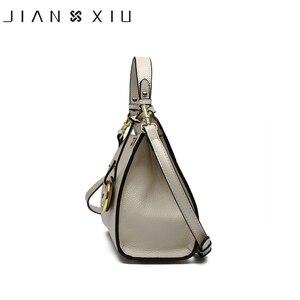 Image 3 - حقائب يد فاخرة من الجلد الأصلي للنساء حقائب بتصميم أنيق حقيبة يد نسائية Bolsa Bolsos Mujer Sac a Main 2017